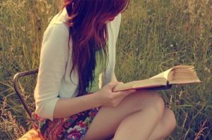 book-girl-grass-reading-sunlight-favim-com-127689